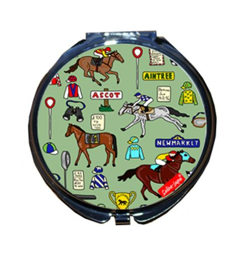 Selina-Jayne Horse Racing Limited Edition Compact Mirror